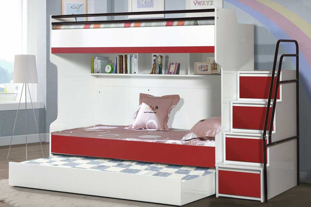 a faultless children 39 s furniture bueno triple bunk bed. Black Bedroom Furniture Sets. Home Design Ideas