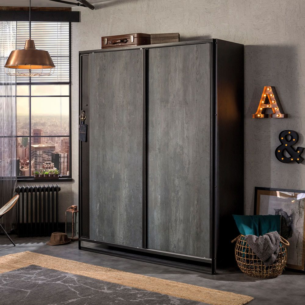 Versatile Sliding 2 Door Wardrobe