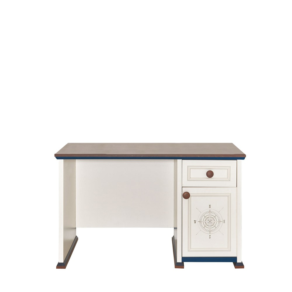 Ocean Contemporary White Children's Desk
