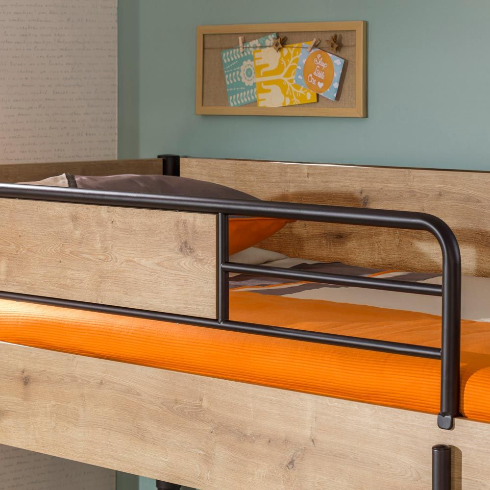Functional Bunk Bed With Trundle