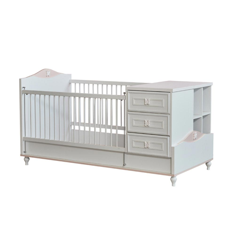 Butterfly Baby Contemporary Baby Cot Bed