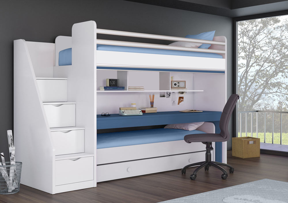 Modern Bunk Beds, Space Saving Bunk Beds Beneficially Fit