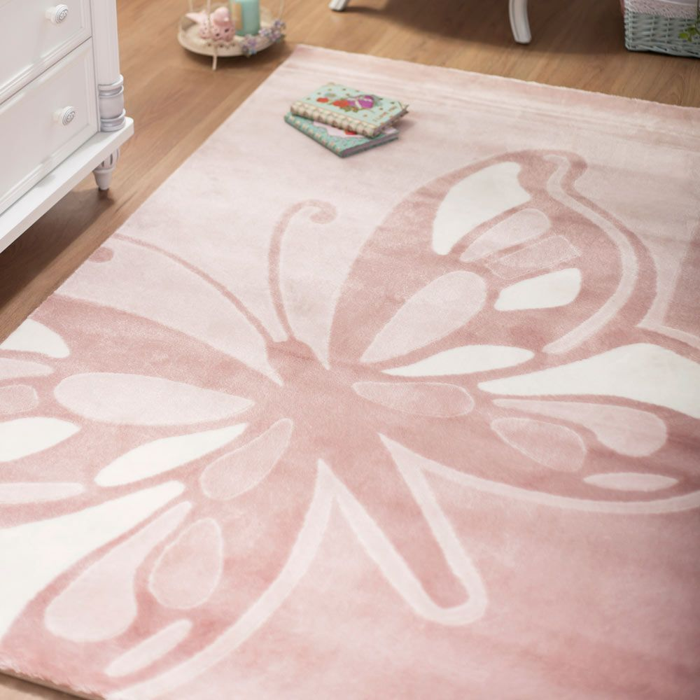 Eco-Friendly Butterfly Rug