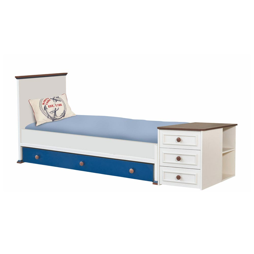 Ocean Baby Contemporary Extendable Single Bed