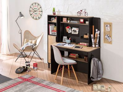 Modern Kids Desk With Storage