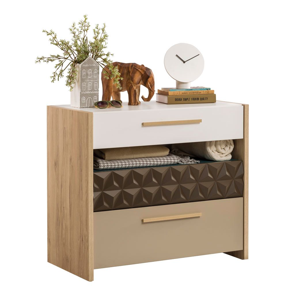 Lofter Sleek Bedroom Chest Of Drawers