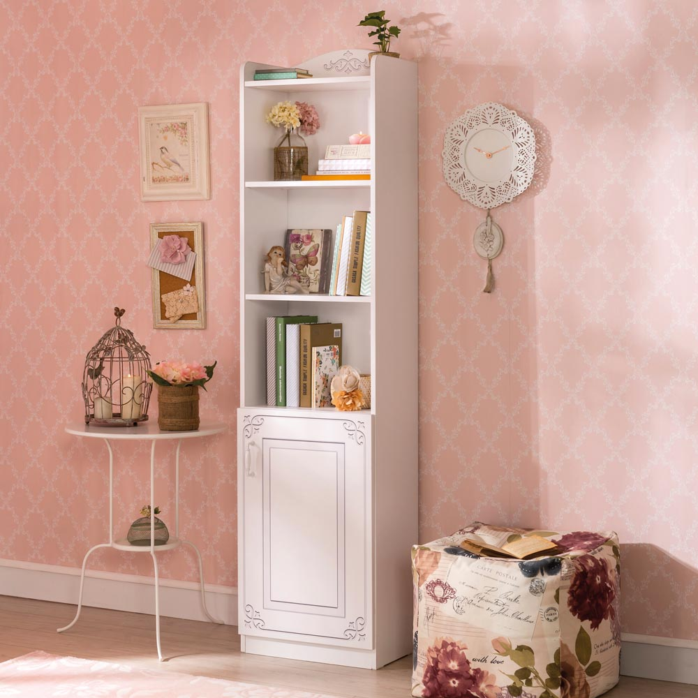 Extraordinary Girls Bookcase