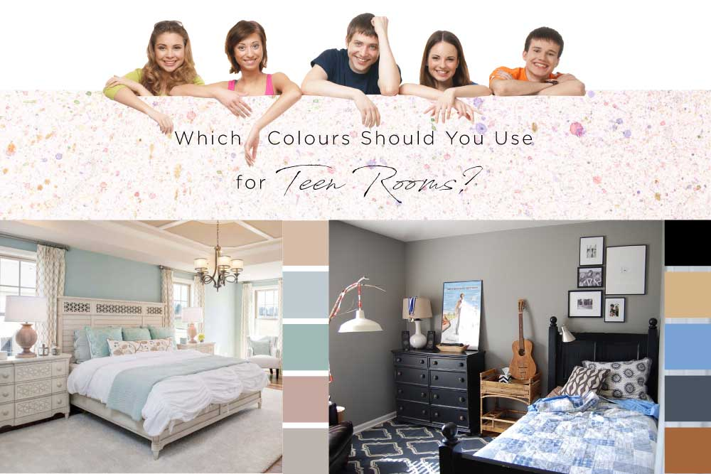 Dynamic Or Simple Teen Room Ideas? Which Colours Should You Use For Teen Rooms?
