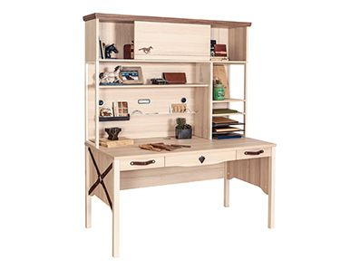 Royal Large Kids Desk With Storage