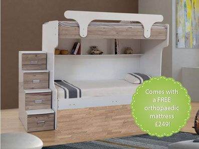 Bunk Beds With Steps