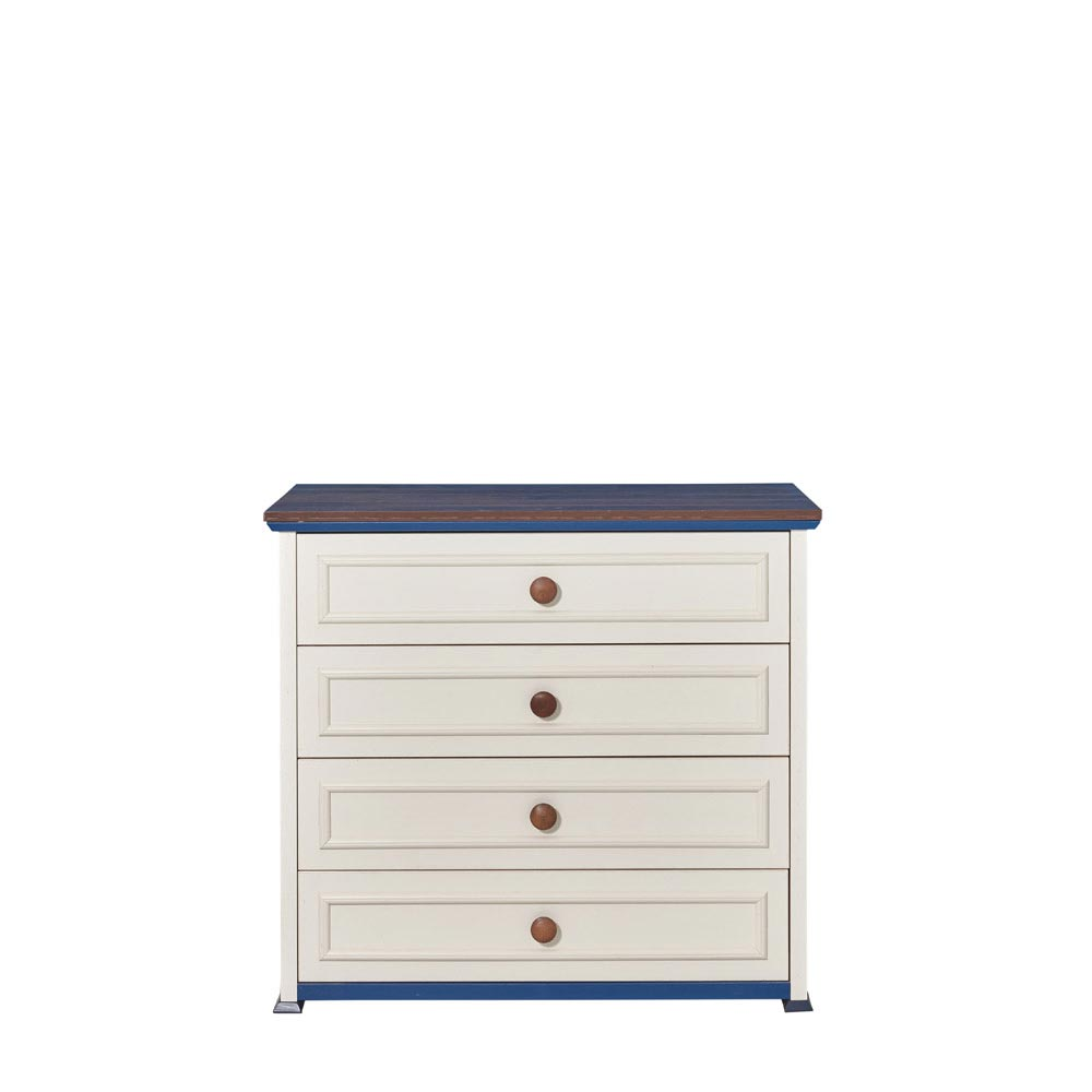 Ocean Baby Contemporary 4 Drawer Dresser