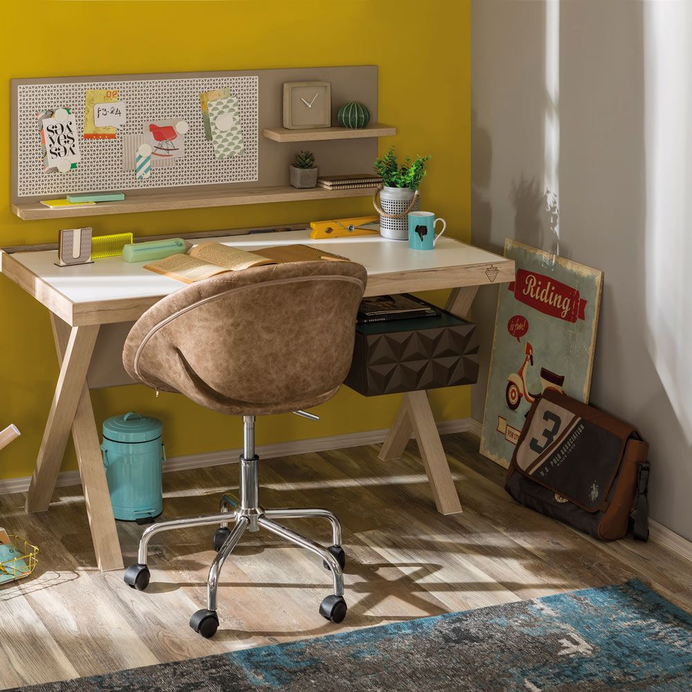 Lofter Classic Kids Desk With Storage