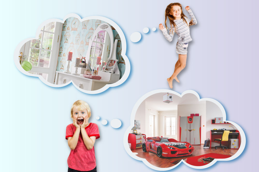 21st Century Style Children's Bedroom Furniture Ideas