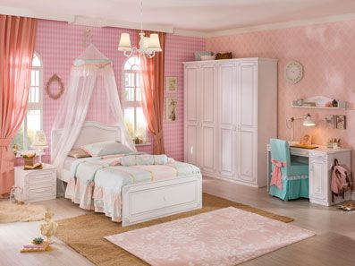 Pretty Teen Girl Bedroom Sets
