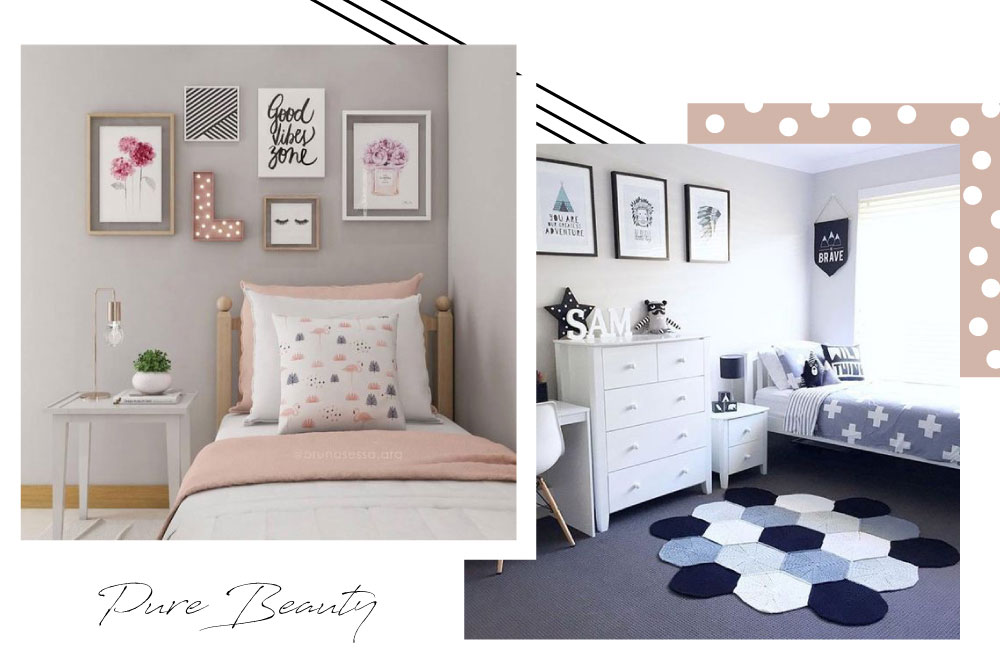 Pure Beauty: Simple Teen Girl's Bedroom Ideas