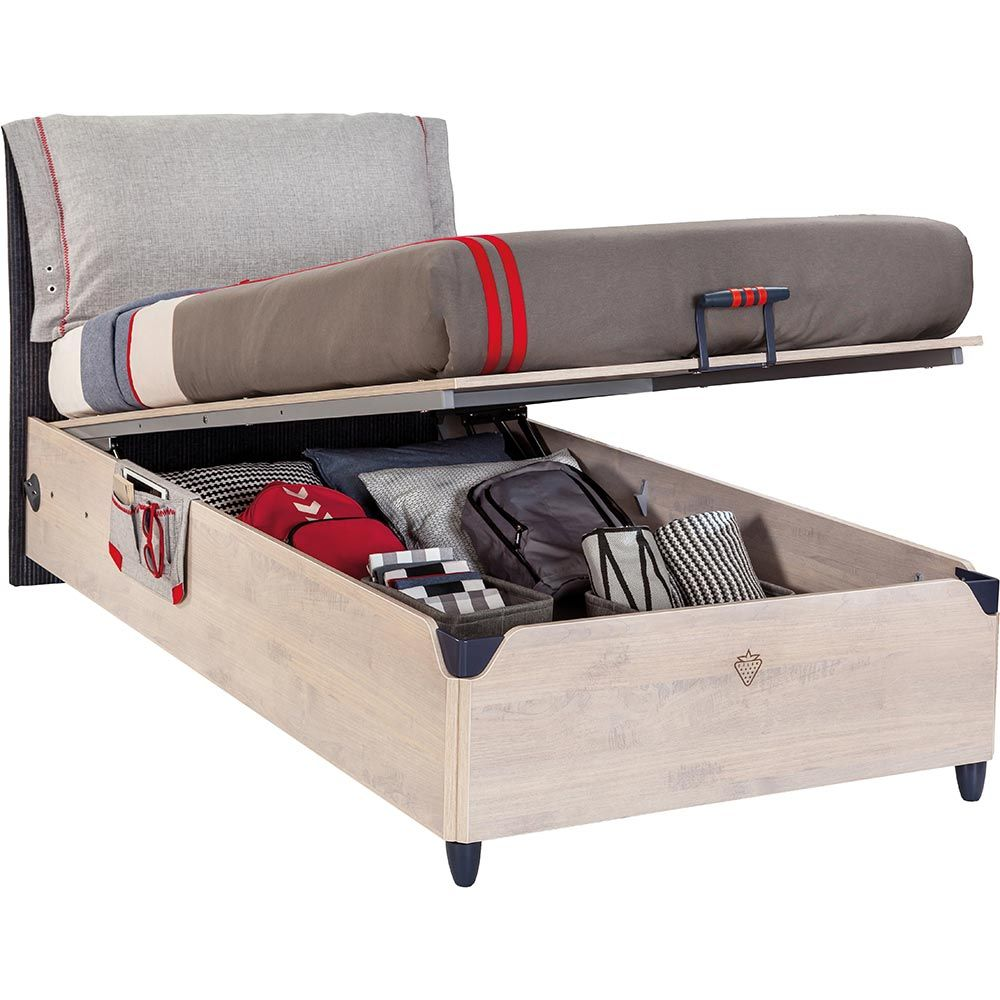 Fashionable Storage Bed