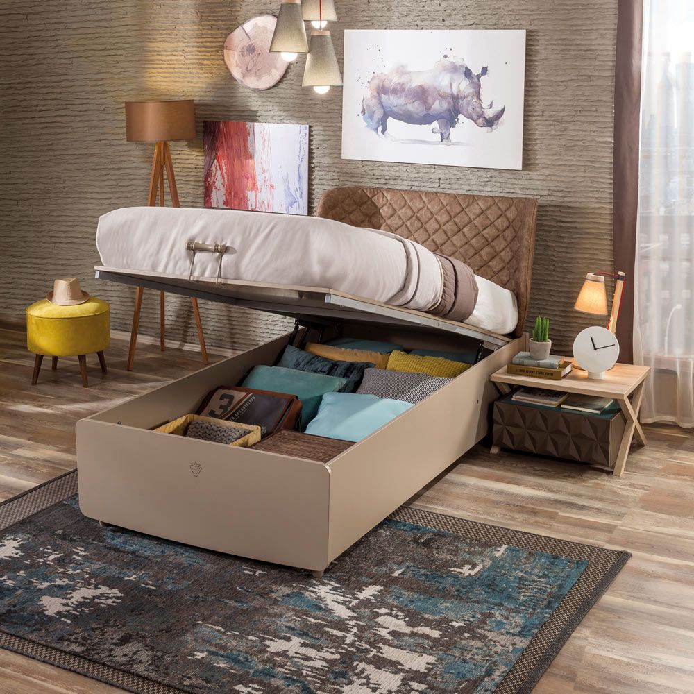 Lofter Style Lifting Storage Bed