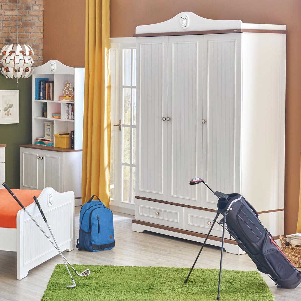 Golf Star 3 Doors Wardrobe