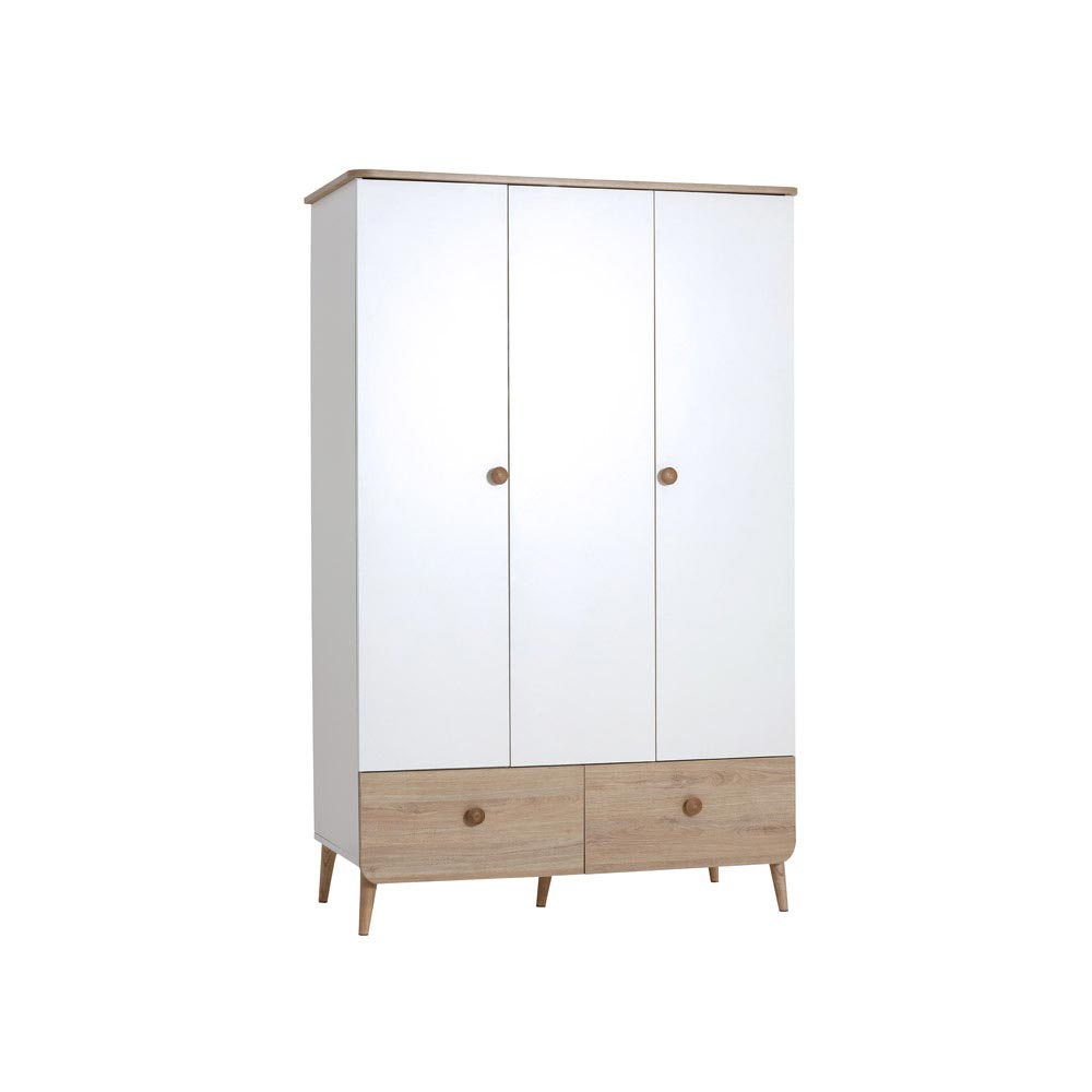 Liva Contemporary Triple Wardrobe