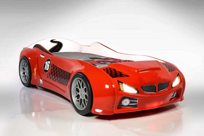 BMW M3 KIDS CAR BED (with LED Lights)
