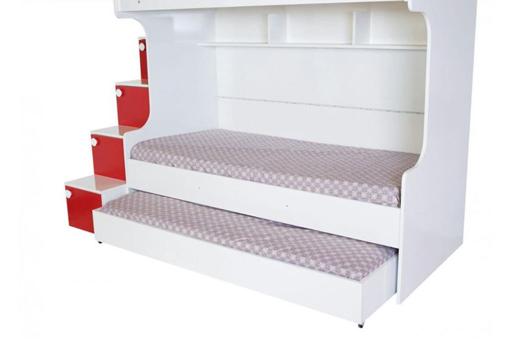 Gold Childrens Bunk Beds With Storage