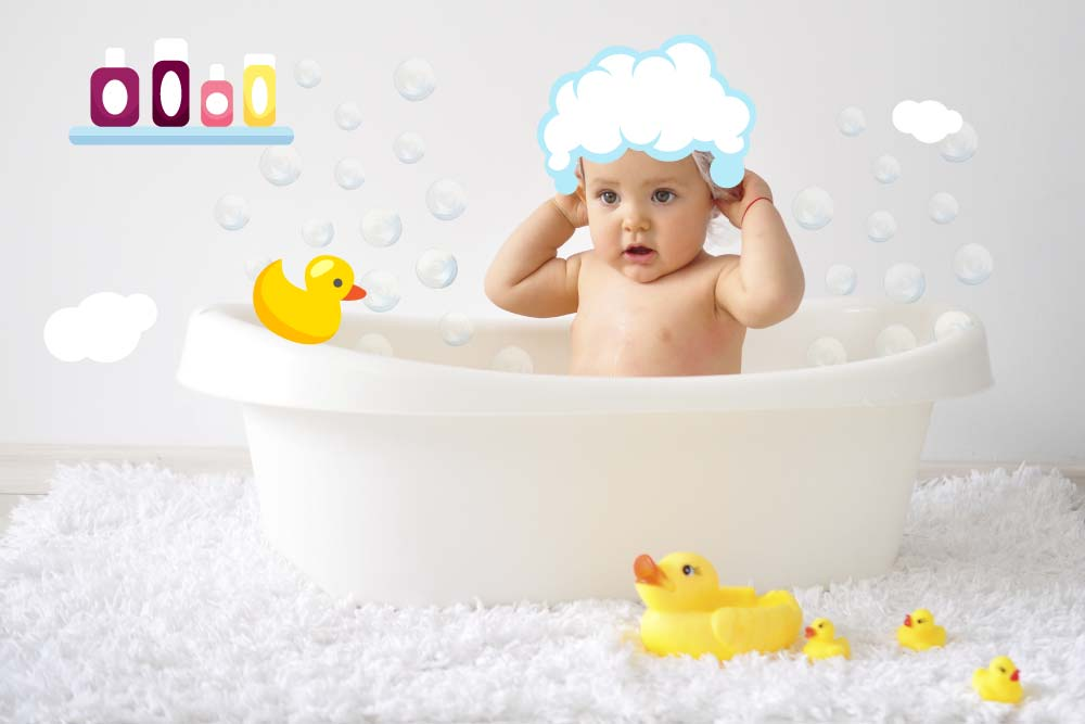 How To Bath Your Baby For The First Time: A Step By Step Guide