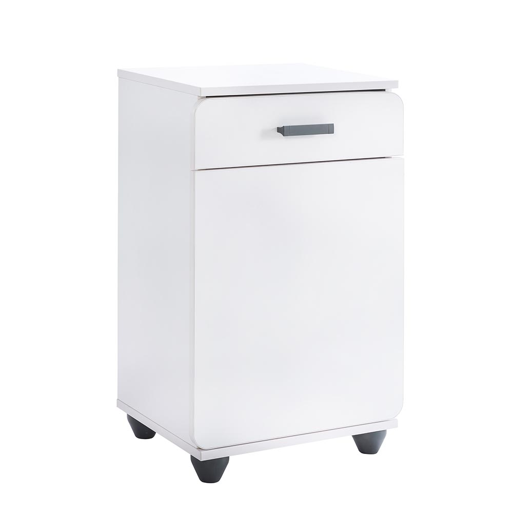 Appealing White Bedside Cabinets