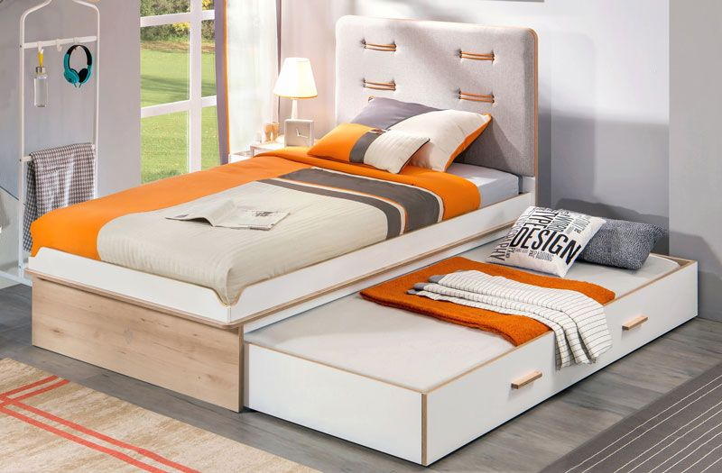 Childrens Trundle Bed