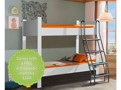 Eurasia Sturdy Bunk Bed