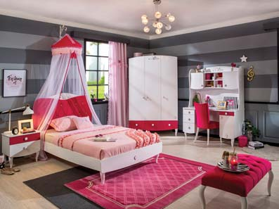 Cute Girls Bedroom Furniture Sets
