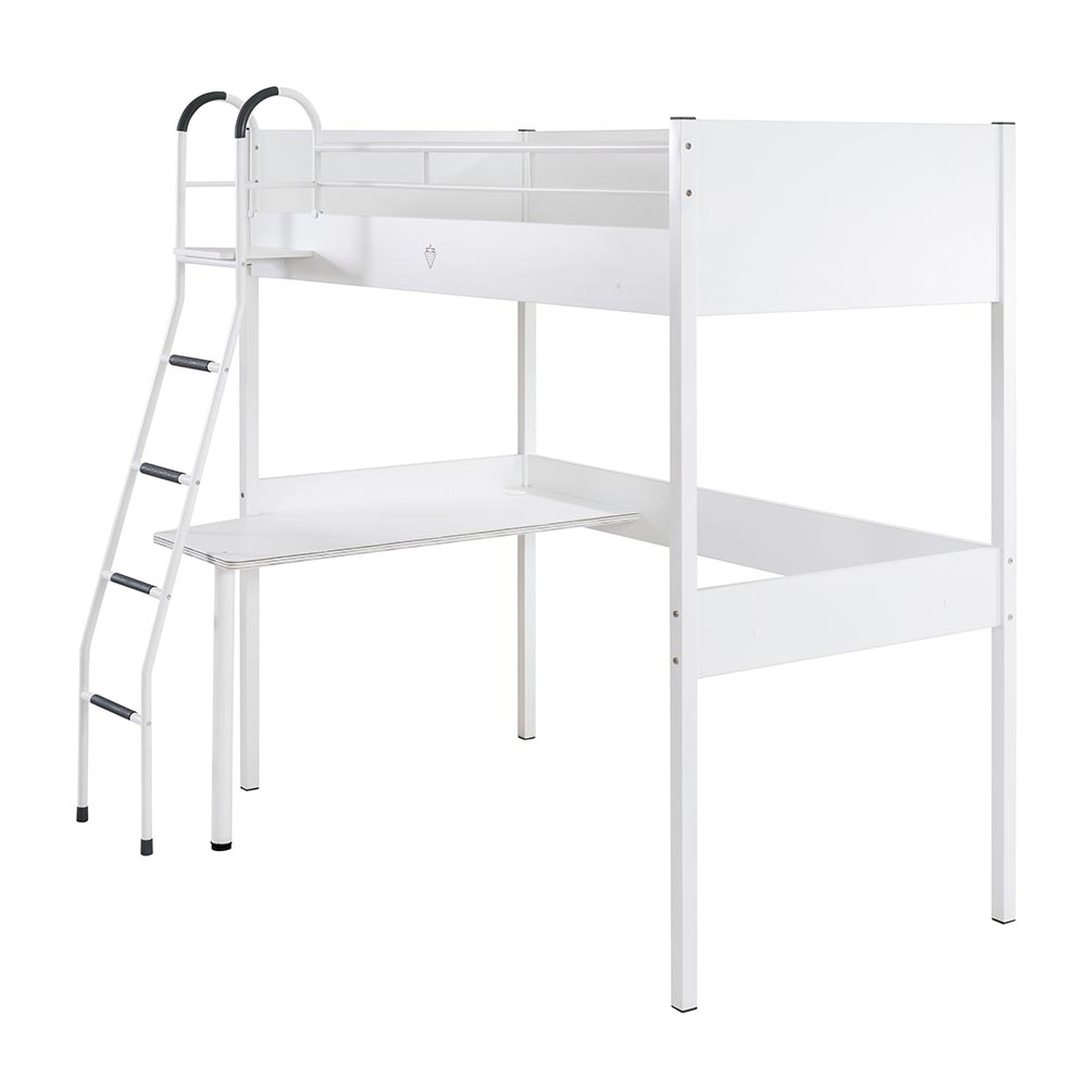 Compact And Adorable Girls High Sleeper With Desk