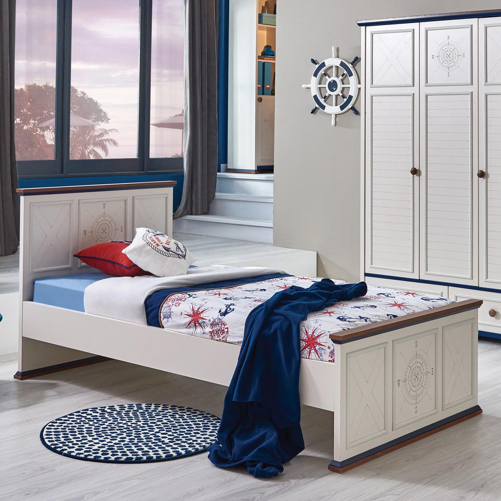 Ocean Cool Children's Single Bed (100cm x 200cm)