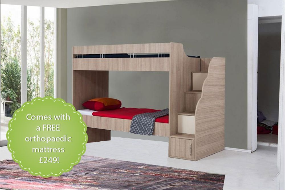Mediterranean Bunk Beds For Teens