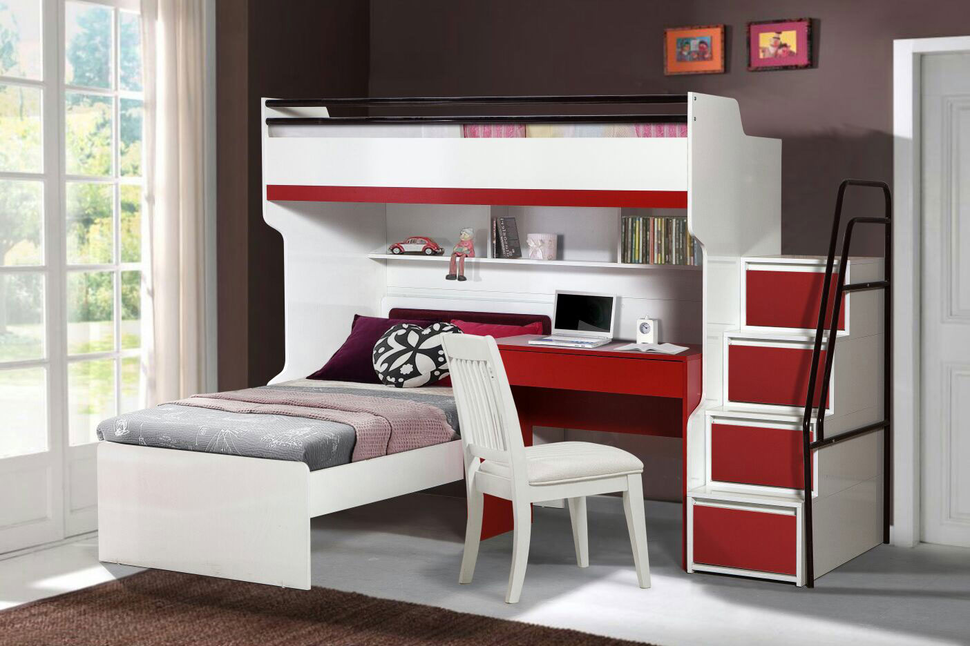 The layout of your child's bedroom and education: is there a link?