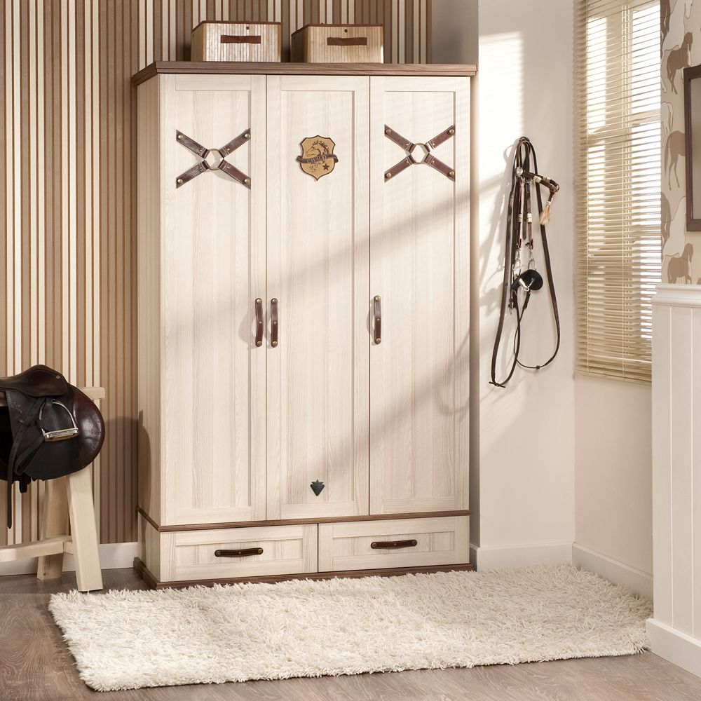 Royal Sturdy 3 Door Wardrobe