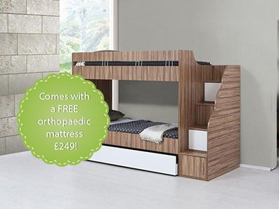 Elite Childrens Bunk Beds With Stairs