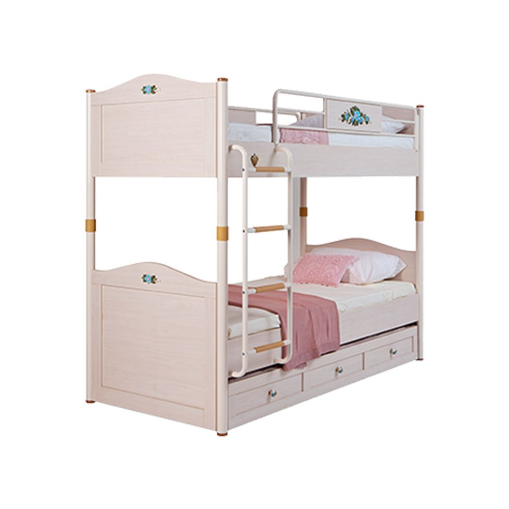 Flora Bunk Bed For Girls With A Trundle Bed