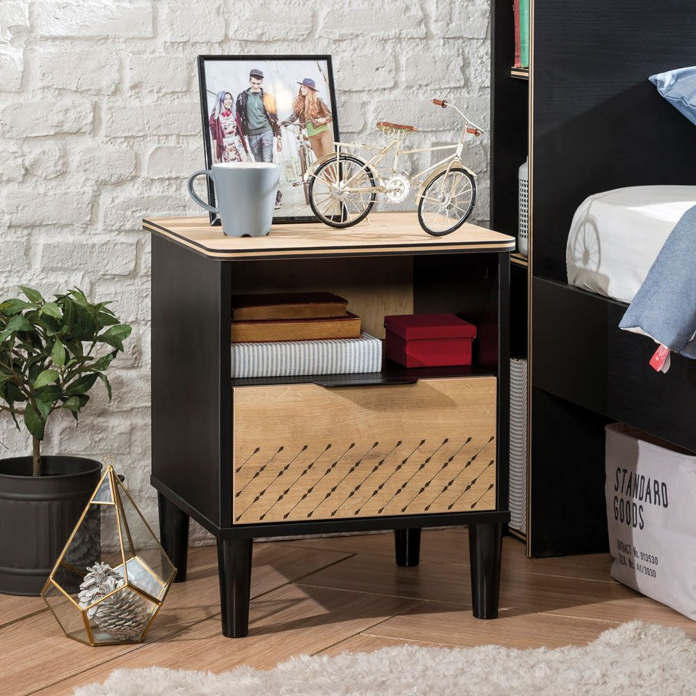 Contemporary Boys Bedside Table