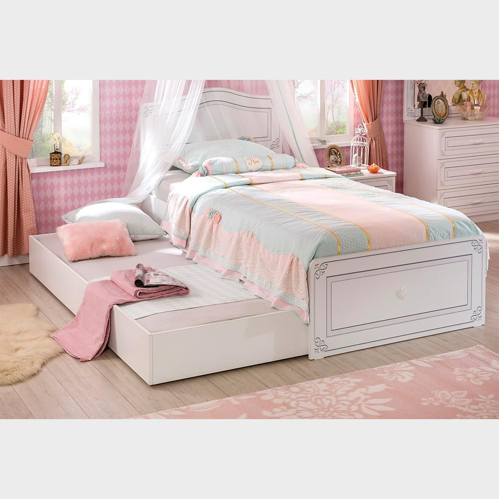Beautiful Single Bed With Trundle