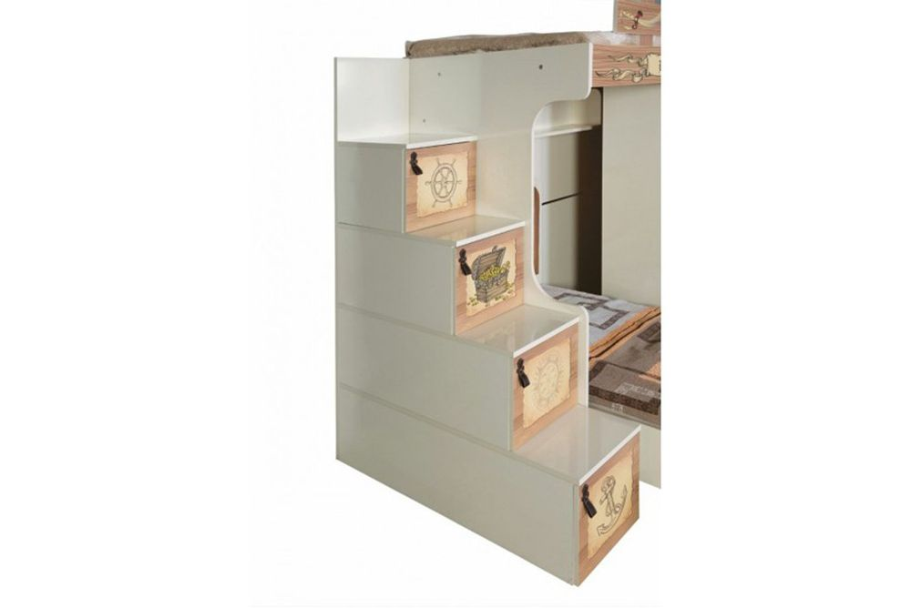 Captains High Sleeper With Storage