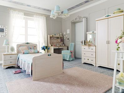 Flower Teen Girl Bedroom Sets