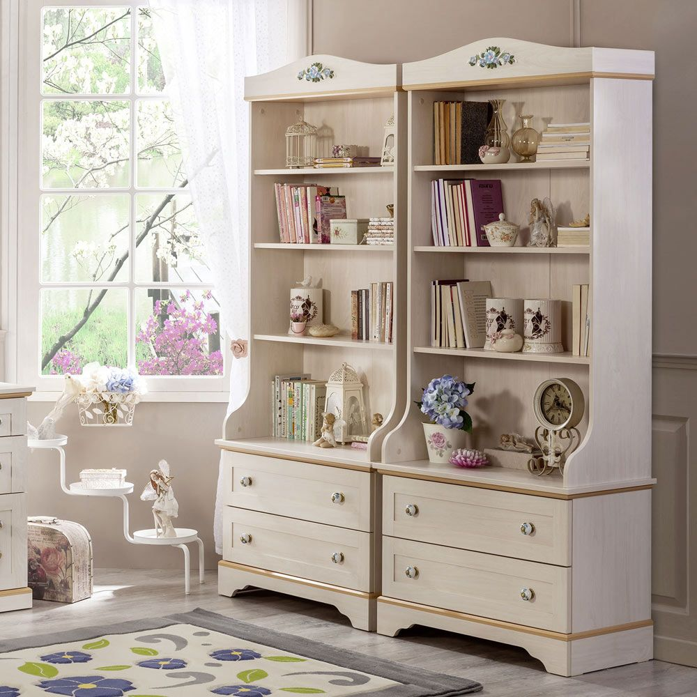 Flora Clutter Free Girls Bookcase