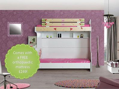 Princess Bunk Bed For Girls