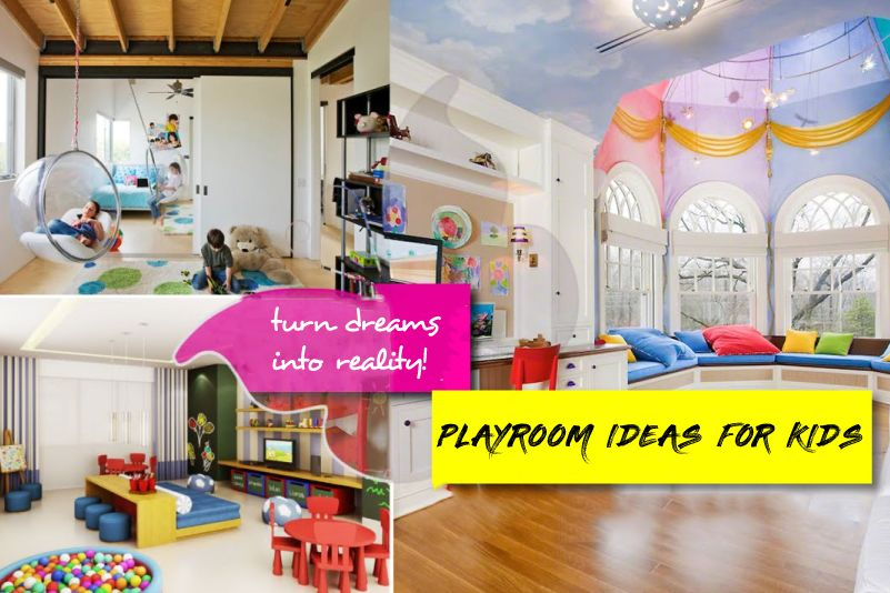 Playroom Ideas For Kids: Practicality, The Reality And Psychological Dimension