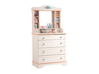 Quality Mirrored Girls Chest Of Drawers