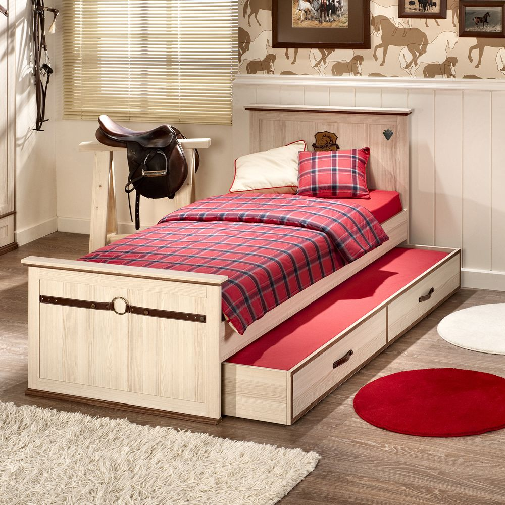 Royal Single Bed With Trundle