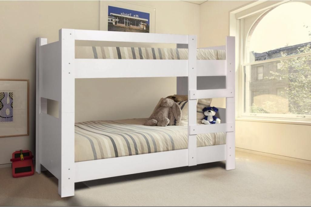 White Childrens Bunk Bed