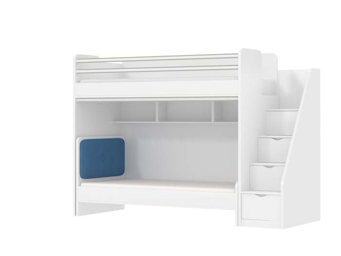 Oxford Kids High Sleeper Beds With A Childrens Bed
