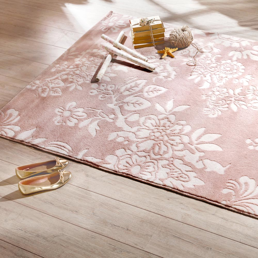 Attractive Childrens Pink Rug