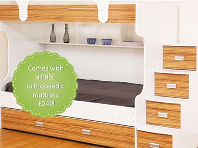 Marmara Bunk Beds For Teens With Trundle